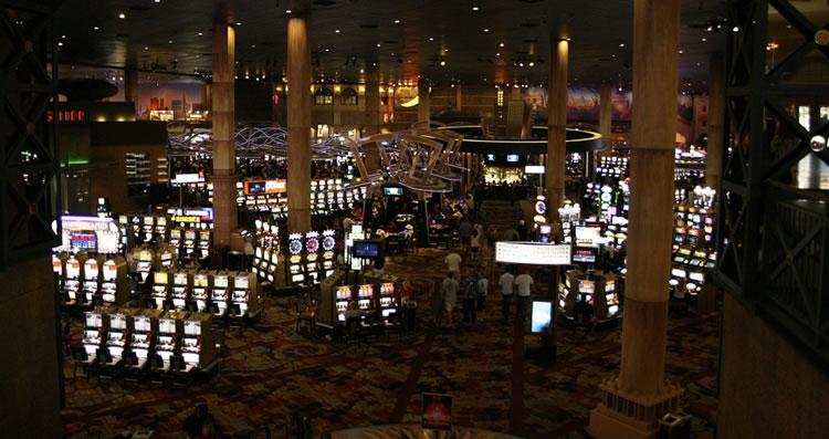 Die Musik die in den Casinos läuft