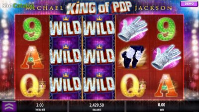 King of Pop - Michael Jackson Spielautomat